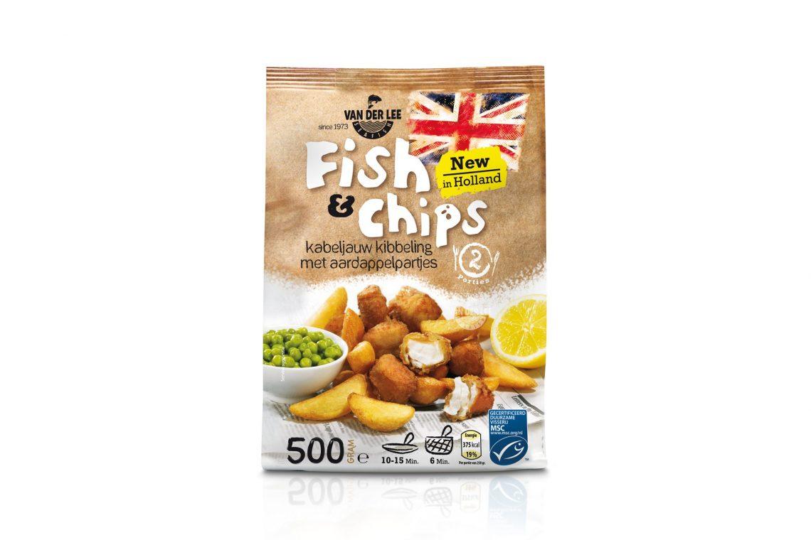 Neues Einzelhandelsprodukt Fish & Chips