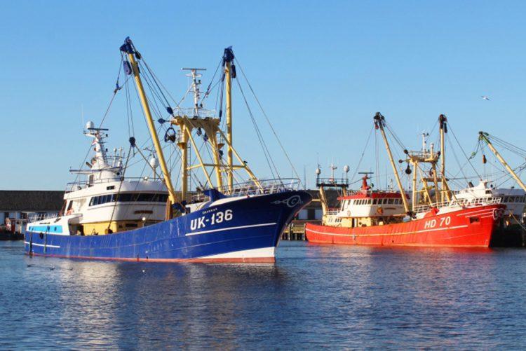 Van der Lee Seafish nimmt den neuen Fischkutter UK136 'Drakkar' in Betrieb