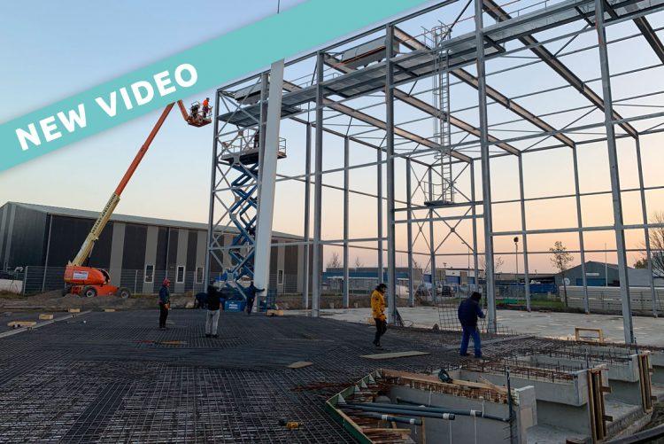 Ausbau der Produktions- und Lagerkapazitäten durch anhaltendes Wachstum