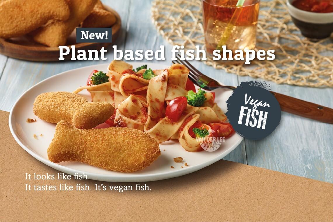 Neu bei Van der Lee Seafish: VEGANER FISCH!